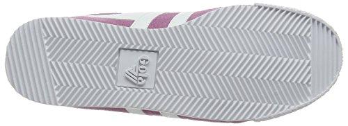 Gola CLA192, Scarpe da Ginnastica Basse Donna Beige (Dusky Pink/white)