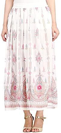 Exotic India Rayon wrap Skirt