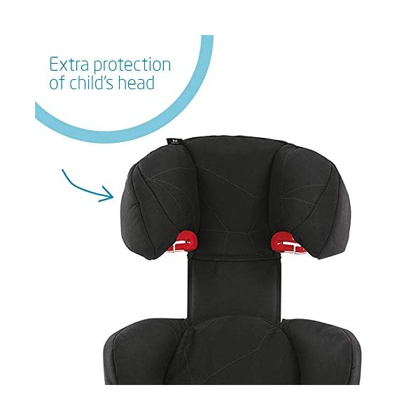 Maxi-Cosi Rodi Air Protect Car Seat, Group 2/3, Black Diamond Maxi-Cosi Forward facing group 2/3 car seat suitable for children from 15 to 36 kg (approx. 3.5 to 12 years) Patented airprotect side impact technology integrated into headrest, protects child's head in case of collision Retractable isofix connectors lock the car seat to the body of the car, ensuring stability and ease of use [ ISOFIX not included ] 3