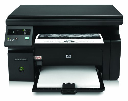 HP LaserJet Pro M1132 All-in-One Laser Multifunktionsdrucker (A4, Drucker, Scanner, Kopierer, USB, 600x600) (Laser-jet-drucker Mit Scanner)