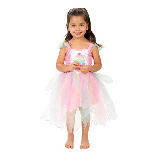 Cupcake Prinzessin Kostüm 104 - Märchen Kostüm 104 - Kinderkostüm Gr 104 - Lucy Locket (Prinzessin Kostüm Cupcake)