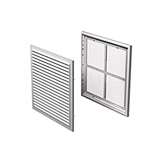 Air Vent Grille Cover 250x250mm WHITE Ventilation Grill (MV 250s) Fly Screen by APUK