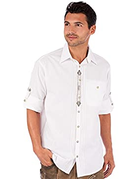 orbis Textil OS-Trachten Trachtenhemd 920027-1184 Weiss