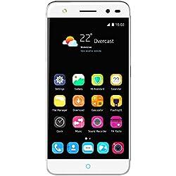 ZTE Blade V7 Lite Smartphone débloqué 4G (Ecran: 5 pouces - 16 Go - Double SIM - Android) Argent