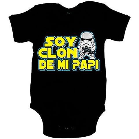 Body bebé Star Wars soy clon de mi papi Soldado Imperial Stormtrooper
