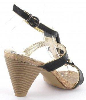 Clarisse - Sandales femme noir - CL2309 Noir