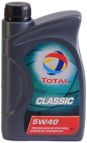 Preisvergleich Produktbild Total 164796 Classic 5W-40 Motorenöl, 1 Liter