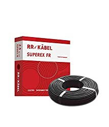 RR Kabel Superex FR Pvc 1.0 sq.mm Wire 90 metre Coil