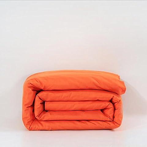 Jingzou Baumwoll-Einzel-Steppdecke solide einfache Steppdecke Baumwolle aktive Köper-Steppdecke200*230cm