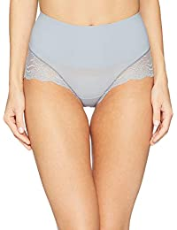 b16fdbfe1c SPANX Women s Undie-Tectable¿ Lace Hi-Hipster Panty Fog Grey Medium