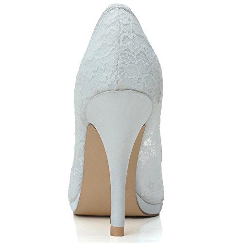 Scarpe da sposa delle donne Tacchi Tacchi Nozze / Party & Sera / Rosa / Nero / Bianco Pink