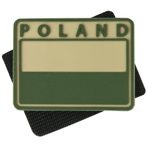 Helikon polnisch Verhaltene Flag Patch mit Polen drucken Khaki Set von 2 -