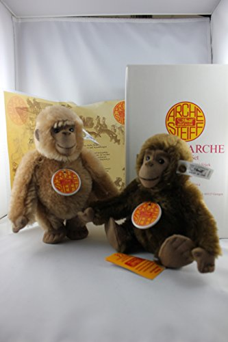 Steiff - 038464 - Arche Noah, Gorilla Set, Mohair, limitierte Auflage