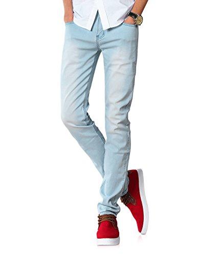 Demon&Hunter 808 Series Men's Skinny Slim Jeans