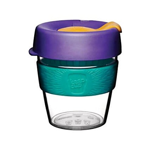 Original Kaffeebecher von KeepCup, Edition Reef, klar, klein, 227 ml