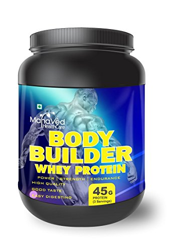 Mahaved Body Builder Whey Protein Supplement - 500 g (Banana)