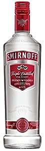 Smirnoff Red Label Triple Distilled Vodka, 1l