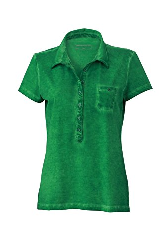 Maglietta polo trendy in look moderno Ladies' Gipsy Polo fern-green
