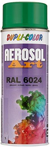 Dupli-Color 733062 Aerosol Art Ral 6024 glänzend 400 ml (Grün Aerosol)