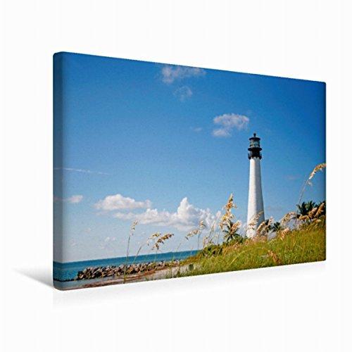leinwand-wegweiser-am-strand-der-bill-baggs-leuchtturm-45x30cm-special-edition-wandbild-bild-auf-kei