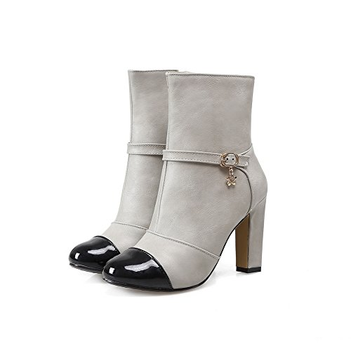 AdeeSu , Chaussons montants femme Gris