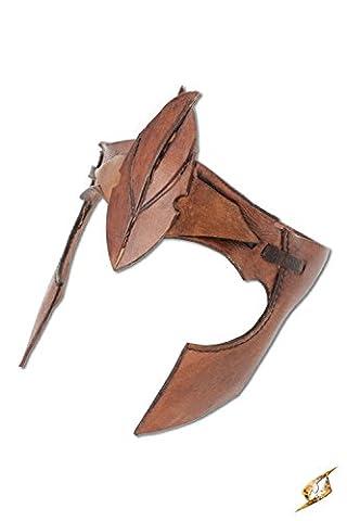 Femme Hobbit Costume - Casque bandeau de guerrier elfe en cuir