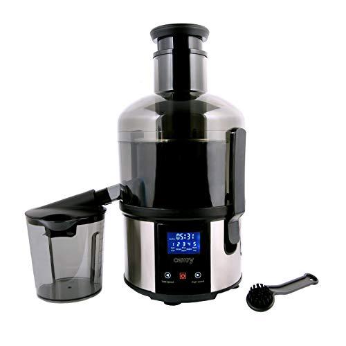Camry licuadora de prensado en Frio Lenta, Negro y Gris, 0 cm