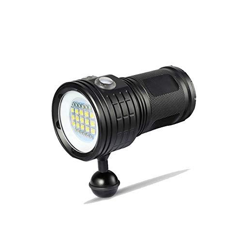 Li KererLED Wasserdichte Tauchtaschenlampe Licht XHP70 / 90 XM-L2 Fotografie Unterwasservideokamera Taktische Taschenlampe Beleuchtung für Tauchen LO6895, QX14-4