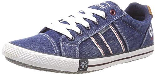 TOM TAILOR Herren 4885601 Sneaker, Blau (Navy), 43 EU - Toms Blau-herren