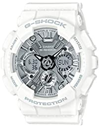 Casio G-Shock S-Series Analog-Digital Silver Dial Women's Watch - GMA-S120MF-7A1DR (G733)