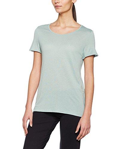 Noisy may Damen T-Shirt Nmcrips S/S Top Blau (Blue Surf)