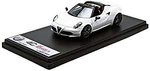 Looksmart - Ls433a - Véhicule Miniature - Modèle À L'échelle - Alfa-romeo 4c Spider Concept - Geneva Motorshow 2014 - Echelle 1/43