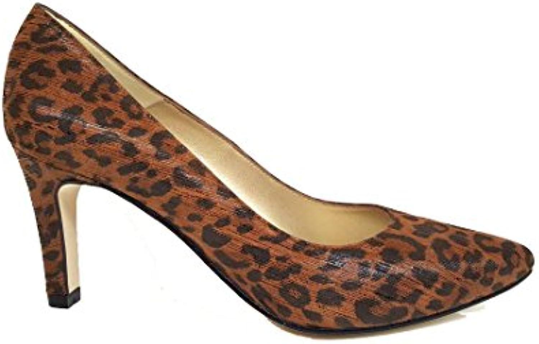 GENNIA Medina - Scarpe Stiletto da Donna in Pelle col Tacco 7 cm e con Punta fine | Sito Ufficiale  | Scolaro/Ragazze Scarpa