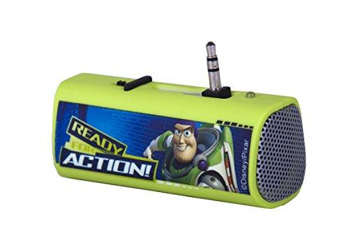 Disney DYPSTS4 Arkas Toy Story Mini Lautsprecher für MP3/Apple iPod/Apple iPhone 3/3/4S/5 Mini Player/Handy/Notebook mehrfarbig
