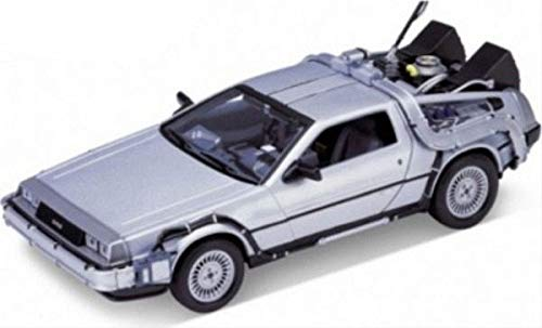 Ritorno al Futuro 1 - Back To The Future I - Delorean 1:24 Die-Cast Metal Model
