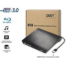 Osst USB3.0Slim Portable External Blu-ray BD Combo lettore CD DVD RW ROM PC MAC di alloggiamento scatola portaoggetti custodia