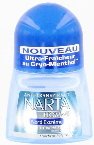 Narta - Déodorant Homme Bille Anti-Transpirant Nord...