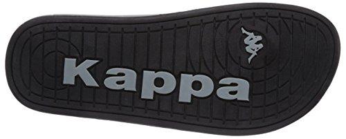 Kappa KITE Footwear Herren Zehentrenner Schwarz (1141 BLACK/BEIGE)