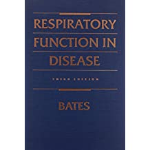 Respiratory Function in Disease