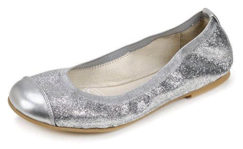 Garvalín Mädchen 172653 Ballerinas mit Geschlossener Spitze, 36 EU (Kinder, Mädchen, Garvalin Schuhe)