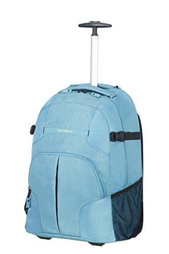 SAMSONITE Rewind Wheeled Laptop Backpack 55/20 Reisetasche, 55 cm, 32.5 L, Ice Blue Wheeled Backpack Für Laptop