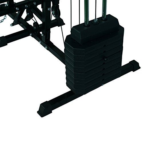 HOMCOM-Multi-Gym-Workstation-Home-Workout-Station-Toning-Body-Building-Strength-Training-Machine-40-kg-Weight-Plates