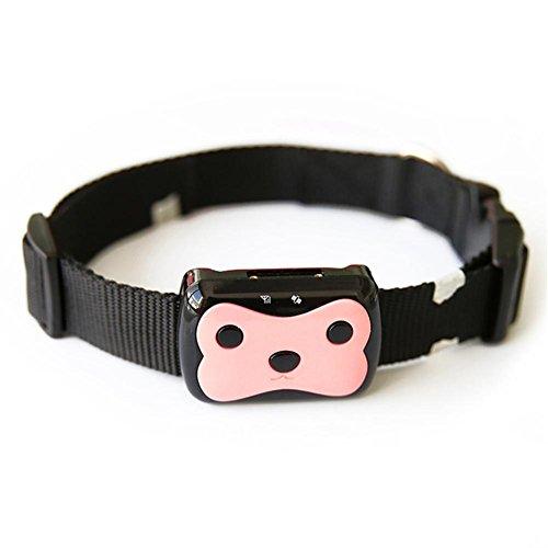 Fiveschoice Waterproof Mini GPS Pet Tracker Locator Collar for Dog Cat Anti-Lost Tracking Device Finder Locator