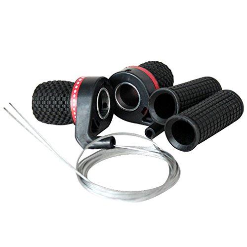 OriGlam Fahrrad-Schalthebel, Drehgriffschalthebel, für Mountainbike, Drehgriffschalter für Gangschaltung -