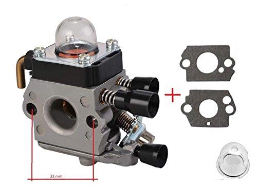 Preisvergleich Produktbild Vergaser für Stihl FS38 FS45 FS46 FS55 FS74 FS75 FS80 FS85 HL45 HL75 HS70 HS74 SET