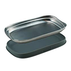 Tovolo Stainless Double Spoon Rest