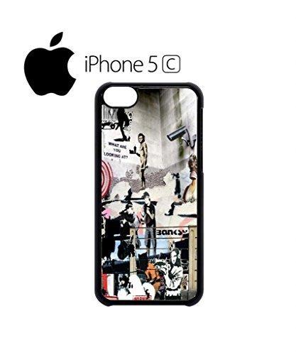 banksy-street-art-graffiti-mobile-cell-phone-case-cover-iphone-5c-black