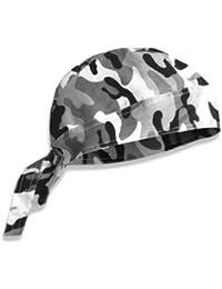 Bandana militaire préformé US Army - Urban Camouflage - Serrage ajustable - Airsoft - Paintball - Moto - Biker - Outdoor
