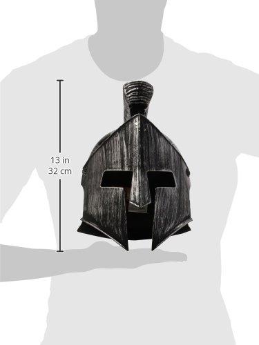 Imagen de spartan casco headware accesorio para históricos antiguos griegos y romanos fancy dress up disfraces y trajes alternativa