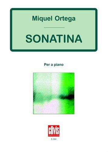 Sonatina Per A Piano por Miquel Ortega
